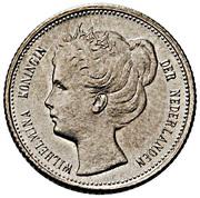 10 Cents - Wilhelmina (petite tête) – avers
