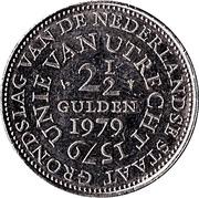 2½ florins Unie van Utrecht -  revers