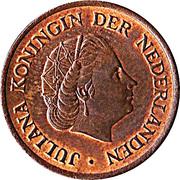 5 cents Juliana -  avers
