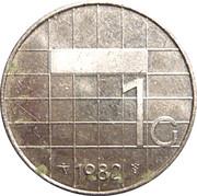 1 gulden Beatrix -  revers