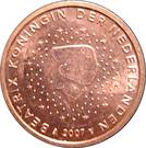 5 cents d'euro Beatrix – avers