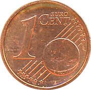 1 cent d'euro Beatrix -  revers