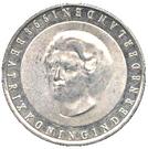 50 gulden Traité de Munster – revers
