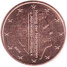 2 cents d'euro Willem-Alexander – avers
