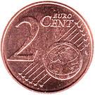 2 cents d'euro Willem-Alexander – revers