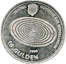10 gulden – avers