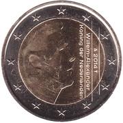 2 euros Willem-Alexander -  avers