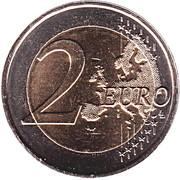 2 euros Willem-Alexander -  revers