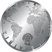 5 euros Canaux d'Amsterdam (argent) – avers
