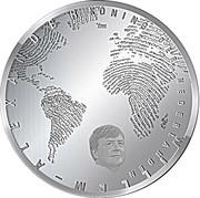 5 euros Moulins de Kinderdijk (argent) -  avers