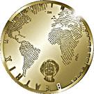 10 euros Canaux d'Amsterdam – avers