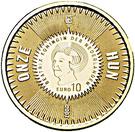 10 euros Michel de Ruyter – avers