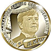 20 euros Couronnement de Willem-Alexander – avers
