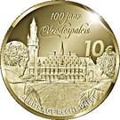 10 euros Palais de la Paix – revers