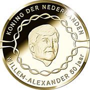 20 euros Anniversaire du roi Willem-Alexander (50 ans) – avers
