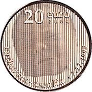 20 euros Princesse Catharina Amalia – revers