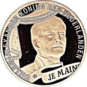 50 euros Couronnement de Willem-Alexander – avers