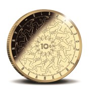 10 euros Fanny Blankers-Koen – revers