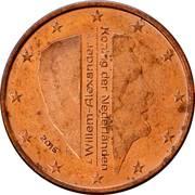 5 cents d'euro Willem-Alexander -  avers