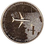 10 euros Aviation – revers