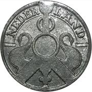 2½ Cents - Wilhelmina (Occupation allemande) – avers