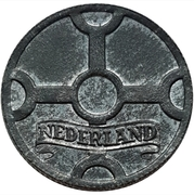 1 cent Wilhelmine (Occupation allemande) – avers
