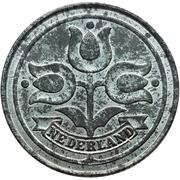 10 cents (occupation allemande) – avers