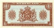 """1 Gulden """"Wilhelmina"""" – revers"""