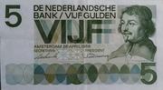 """5 Gulden """"Vondel"""" – avers"""