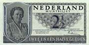"""2,5 Gulden """"Juliana"""" – avers"""