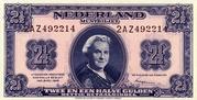 """2,5 Gulden """"Wilhelmina"""" – avers"""