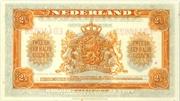"""2,5 Gulden """"Wilhelmina"""" – revers"""