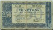 2.5 Gulden (Zilverbon) – avers