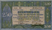 2.5 Gulden (Silver voucher) – avers