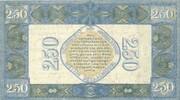 2.5 Gulden (Silver voucher) – revers