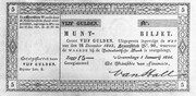 5 Gulden (Coin note) – avers