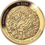 10 euros Leeuwarden – revers