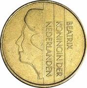 5 gulden Beatrix -  avers