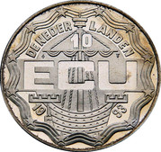 10 ECU - Beatrix (Leeghwater) -  avers