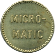 Jeton de lavage automobile - Micro-matic – avers