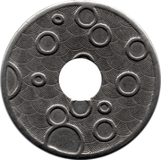 Jeton de lavage automobile - Car wash (22mm) – revers