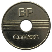 Jeton de lavage automobile - BP CarWach (5) – avers