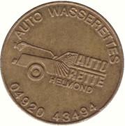 Jeton de lavage automobile - Auto Rette (Helmond) – avers
