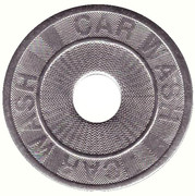 Car Wash Token (24 mm) – avers