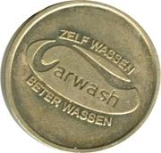 Car Wash Token - Zelf wassen better wassen – avers