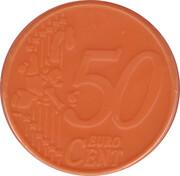 50 Cents - Shopping Cart Token (blank) – avers
