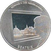5 euros Peinture hollandaise (cuivre plaqué argent) – avers