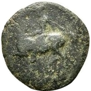 Bronze Æ15 (Pelinna) – avers