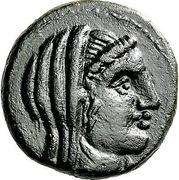 Tetrachalkon (Pelinna) – avers