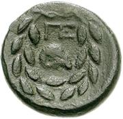 Tetrachalkon (Pellene) – revers